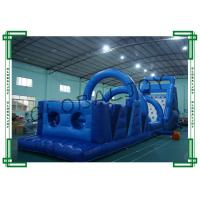 Buy cheap Kids Inflatable Bouncer House Obstacle Course Bouncy Castles from wholesalers