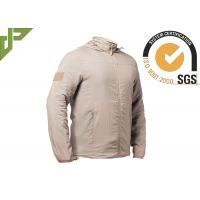 Buy cheap Outdoor Military Tactical Jackets Windproof , Tactical Hooded Jacket Quick Dry from wholesalers