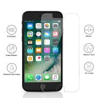 9H Full Tempered Glass Bubble Free Iphone Screen Protector Case Friendly