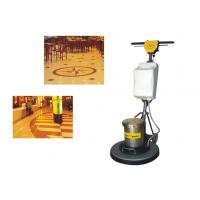 Buy cheap Iron Handle Tile / Hard Floor Cleaning Machines floor scrubber 450mm 1500W from wholesalers