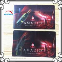 Buy cheap Eco-friendly 3D Lenticular Business Cards 0.6mm PET Pantone Color from wholesalers