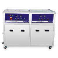Buy cheap Power Heater Dual Tanks Industrial Ultrasonic Cleaner Drying , ultrasonic cleaning equipment from Wholesalers