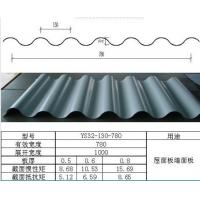 Buy cheap Color Corrugated Metal Wall Panels , Galvanized steel roofing tile for architecture from wholesalers
