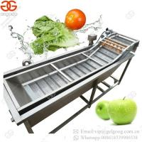Buy cheap High Quality Professional Cherry Tomato Bubble Washing Grapes Washer Leafy Vegetable Fruit Cleaning Machine from wholesalers