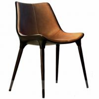 Buy cheap Modern Leisure Passion leather dining chair restaurant bar chairs from wholesalers
