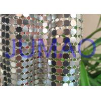 Buy cheap Decorative Bling Aluminum Metal Sequin Fabric Light Silver With 4 Branches product