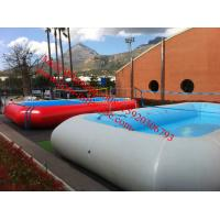 Buy cheap large inflatable water pool toys inflatable pvc swimming pool inflatable pool mattress from wholesalers