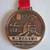 Buy cheap Engraved metal medallion maker China for custom metal medals and medallions for cheap from wholesalers