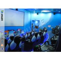Buy cheap Fashion Design 5D Movie Theater With Pneumatic /  Electric Motiom System product