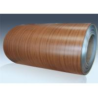 Buy cheap Room Door PVC Film Metal Laminate Sheets Laser Coated Cold Rolled Steel Coil from wholesalers