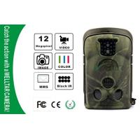 Buy cheap NO Glow Waterproof IP54 Wildlife Camera , GSM MMS GPRS Trail Cameras from wholesalers