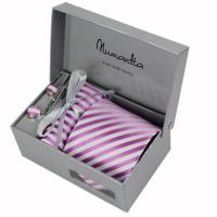 Buy cheap Polyester Necktie Gift Set For Men Mixed Patterns from wholesalers