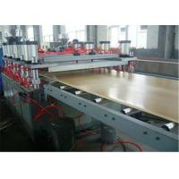 Buy cheap Deck Board WPC Extrusion Line With Conical Twin Screw Extruder from wholesalers