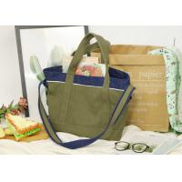 Buy cheap Single Shoulder Double Face Usage Canvas Messenger Tote For Adult from wholesalers