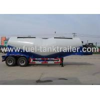 Buy cheap 28000kg Loading Pneumatic Bulk Trailer 27m³ Volume With Weichai Diesel Engine from wholesalers