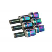 Buy cheap Coloured Titanium Wheel Bolts Car Racing Wheel Nuts And Bolts Anti Corrosion from wholesalers