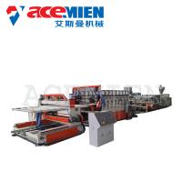Buy cheap PVC Foam Plate Making Machine 25m*5m*3m With Forming Table Tracking Cutter from wholesalers