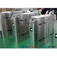 Buy cheap Outdoor Flap Barrier Bi - Directional Turnstile Access Control System Automatic from wholesalers
