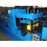 Buy cheap Galvanized Steel CZ Purlin Roll Forming Machine Hydraulic Hole Punching CE Standard from wholesalers