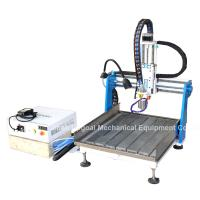 Buy cheap Gantry Moving Desktop Aluminum CNC Router Machine with DSP A11E Offline Control product