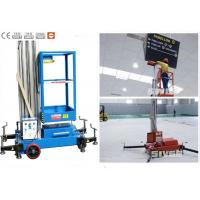 Buy cheap Office Buildings Aerial Work Platform Push Around 8 Meter Height For One Man from wholesalers