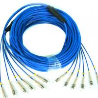 Buy cheap Single Mode / Multimode Fiber Patch Cable Electronic Link Fiber Optical Pigtail from wholesalers