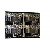 Buy cheap Industrial 4 Layers Rigid PCB Board With Black Soldermask And White Silkscreen from wholesalers