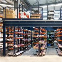 Buy cheap Best Quality Multitire Warehouse Rack Mezzanine With Perfect Coating from wholesalers