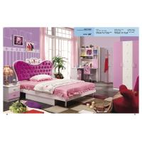 Buy cheap Children bedroom furniture girls bedroom furniture princess pink bed model 805 from wholesalers