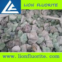 Buy cheap China Fluorspar Supplier Granule Size 85%  90% Fluorite Lump selectable size 0-80mm/Jumbo bag from wholesalers