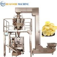 Buy cheap Potato Chips 3 Kw Automatic Food Packing Machine 1800*1250*1780mm from wholesalers