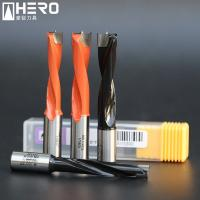 Buy cheap Carbide Step Brad Point Drill Bits , Wood Boring Drill Bits High Wear Resistance from wholesalers