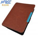 Buy cheap Ultra Slim GLO Kobo Ereader Leather Case Brown , Hard back Shell from wholesalers