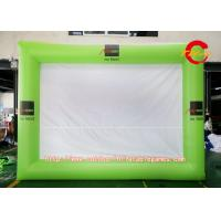 Buy cheap Customized Oxford Cloth Green Inflatable Movie Screen For Outdoor Display from wholesalers