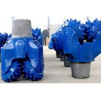 Buy cheap Water Well Drilling News Blue Durable TCI Tricone Drill Bit , Rock Cone Drill Bits from wholesalers