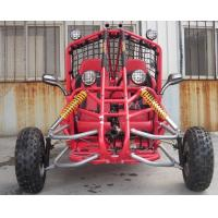 Buy cheap FR / RR Disc Brake 150cc Go Kart Buggy Double Seat Go Kart With Electric Starting System from wholesalers