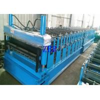 Buy cheap IBR Roofing Corrugated Sheet Roll Forming Machine 13 Rows Cold Roll Former from wholesalers