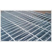 Buy cheap 30X5mm serrated galvanized steel grating from wholesalers