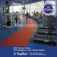 Buy cheap PVC Gym Flooring for Fitness Floor from wholesalers