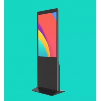 Buy cheap Floor Standing 420W 43 49 55 Lcd Touch Screen Kiosk from wholesalers