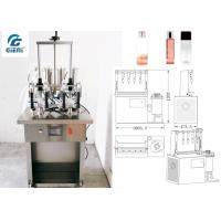 Buy cheap Water Based Material Toner Filling Machine For Glass Container from wholesalers