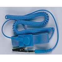 Buy cheap PU Blue Antistatic Wrist Strap / ESD Wrist Strap with Cord from wholesalers