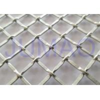 Buy cheap 1/2 Inch Opening Decorative Wire Screen, Galvanized Steel Cabinet Mesh Grilles from wholesalers