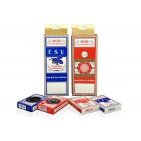 Buy cheap Casino Playing Cards German Black Core Paper with standard size from wholesalers