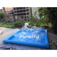 Buy cheap Good Quality Transparent Inflatable Aqua Walking Ball with Water Pool for Kids and Adults from wholesalers