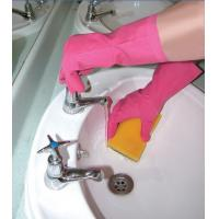 Buy cheap DIP Flock Lined Household Latex Gloves from wholesalers