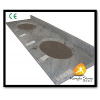 Buy cheap Xiamen Kungfu Stone Ltd supply Carrara Marble Hotel Countertops In High quality from wholesalers