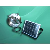 Buy cheap solar gable fan with 12 / 14 inch blade from wholesalers