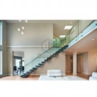 Buy cheap modern straight staircase/metal stair from wholesalers