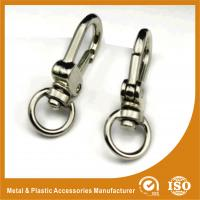 Buy cheap Silver Plated Handbag Accessories Stainless Steel Snap Hooks from wholesalers